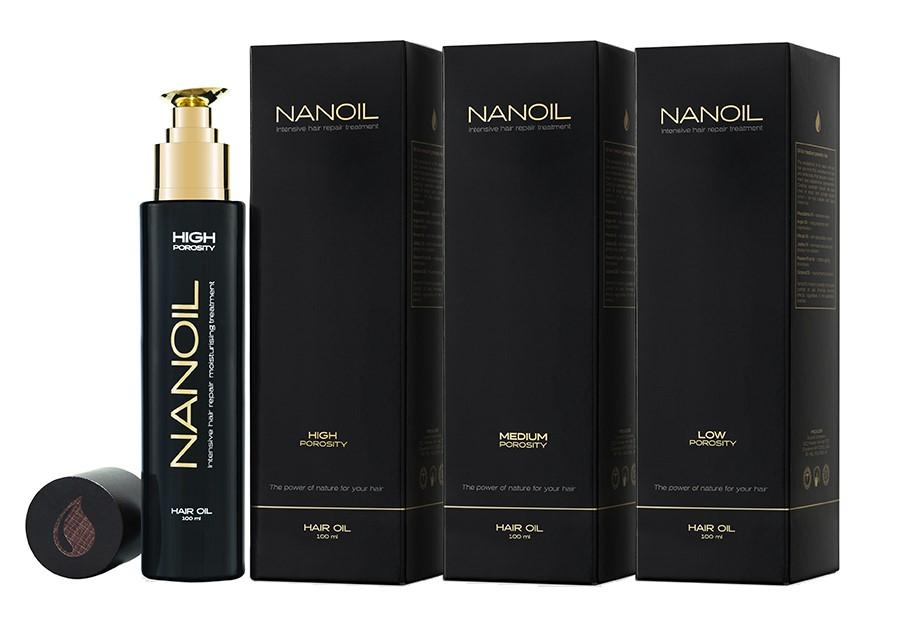 Nanoil Haarolie - Haarpflege mit Ölen